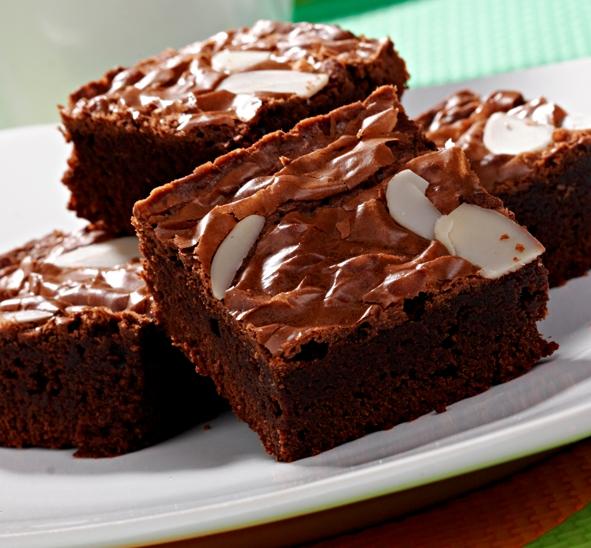 Cara membuat brownies panggang oven,resep brownies panggang holland bakery