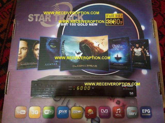 STAR TRACK SRT 150 GOLD NEW HD RECEIVER CCCAM OPTION