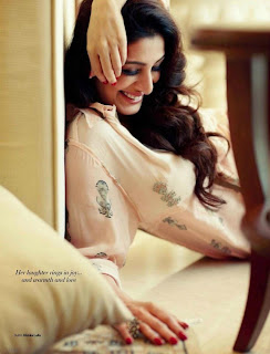 Actress Tabu Photo shoot for Filmfare (February-2013)