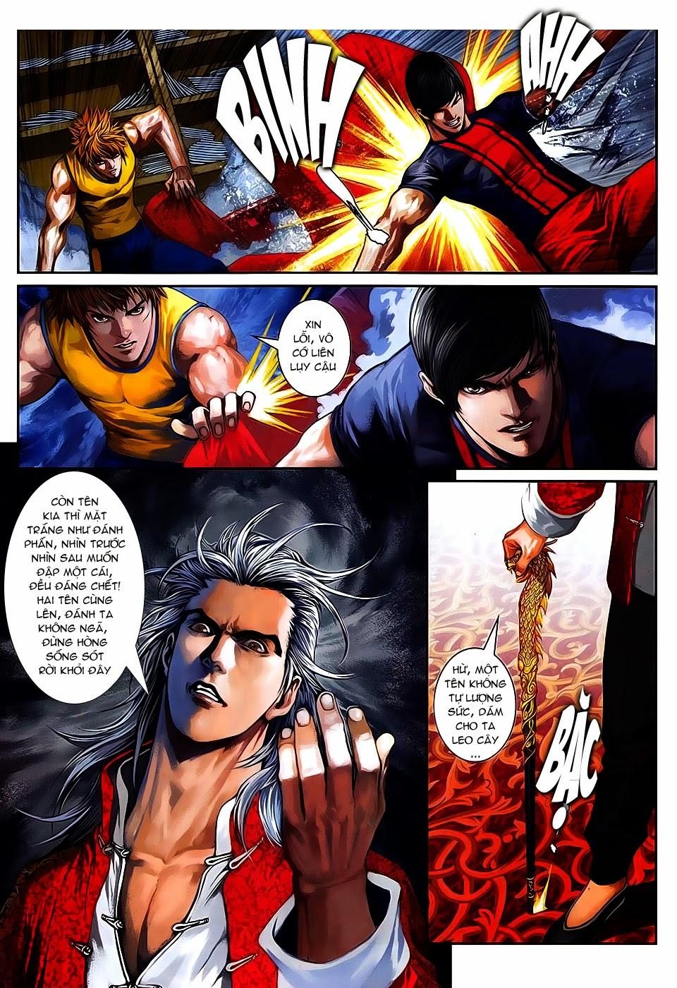 Quyền Đạo chapter 8 trang 19