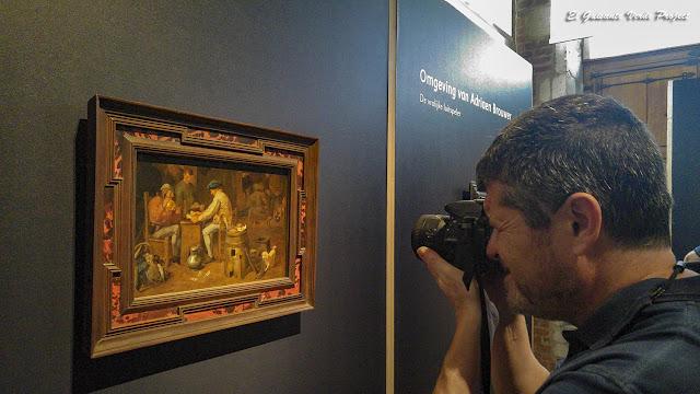 Fotografiando De kaartspelers de Adriaen Brouwer - MOU Oudenaarde por El Guisante Verde Project