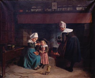 Le Déjeuner du Petit Potic (1887), Emma Herland