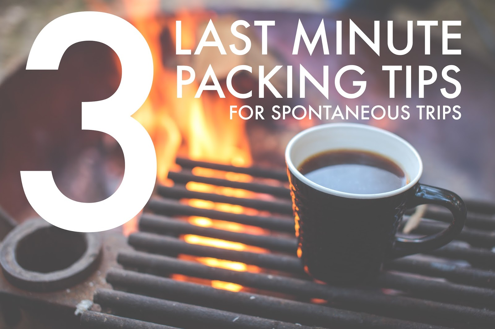 five sixteenths blog 3 Ways to Prepare for a Last Minute Trip