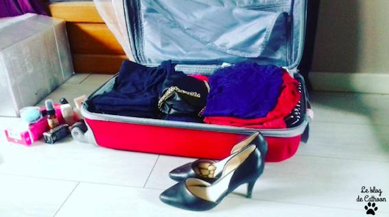 je mets quoi dans ma valise