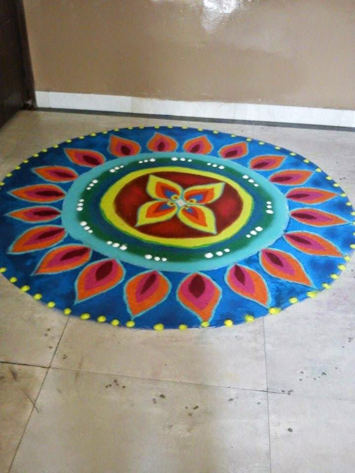 Rangoli Diwali Collection 2014 7
