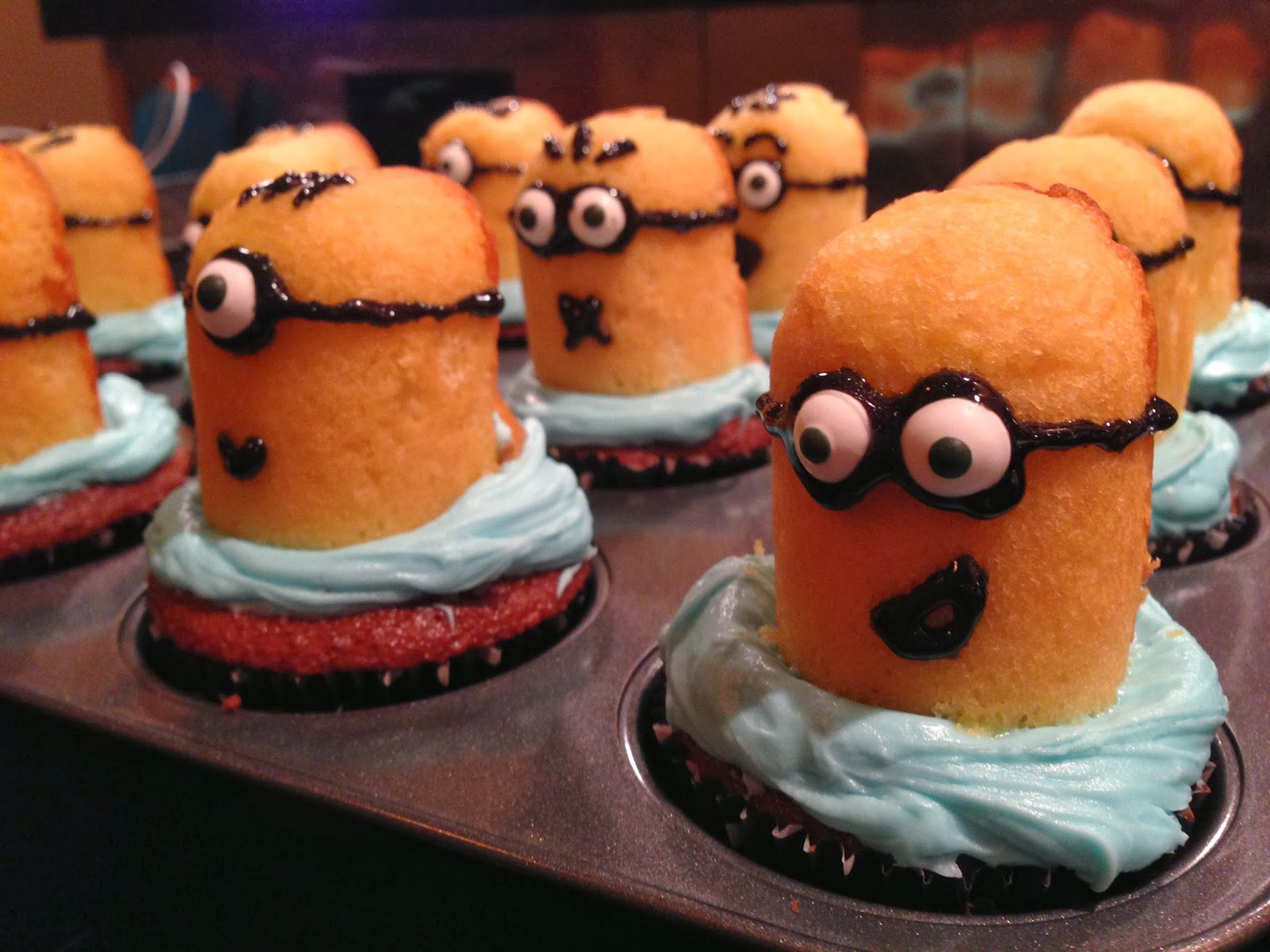 Make A Food Wish The Cutest Cupcakes Ever Minions