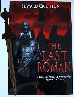 Portada del libro The Last Roman, de Edward Crichton