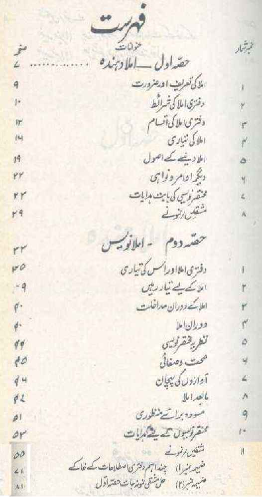 Urdu Daftari Imlaa (Dictation) by Prof. Niaz Irfan PDF