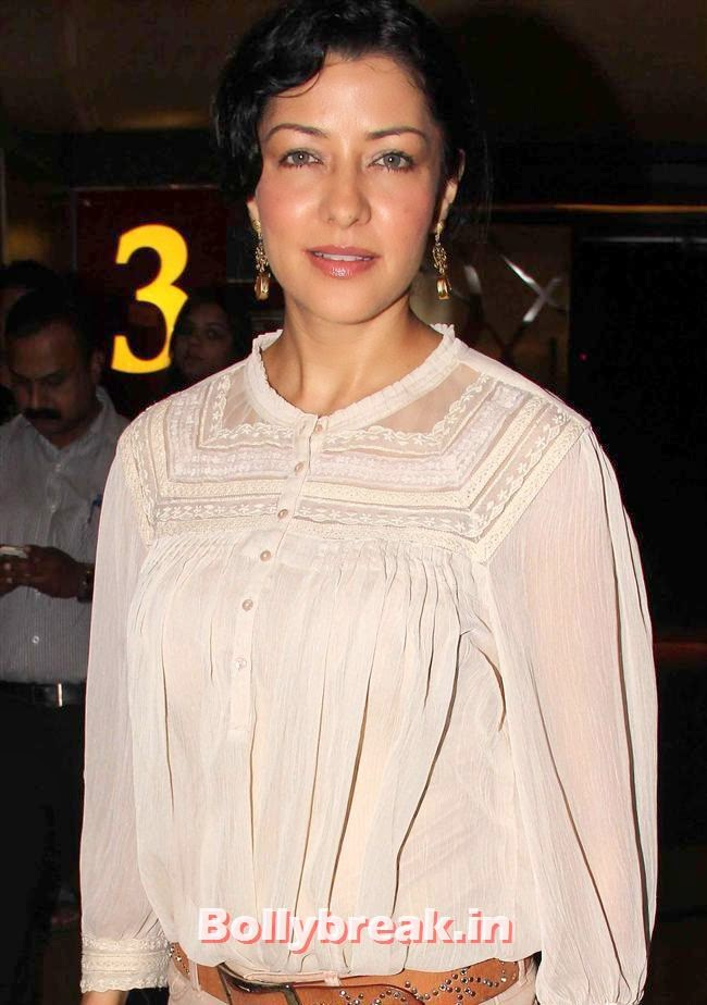 Aditi Govrikar, Genelia, Sonal, Karishma at Yellow Film Special Screening