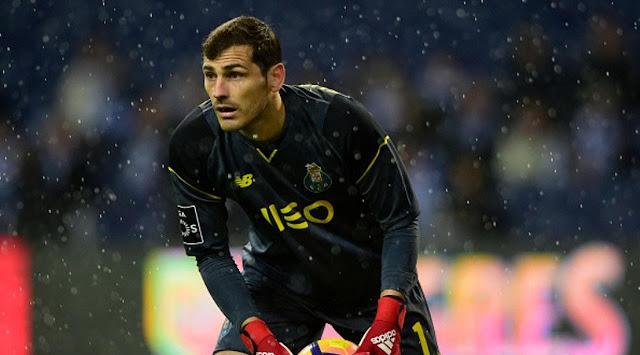 Iker Casillas akan dicadangkan instruktur Sergio Conceicao pada ketika melawan Pacos de Ferreir Berita Terhangat Iker Casillas Diasingkan sebab Smartphone dan Etos Kerja
