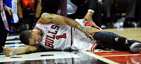 Derrick Rose re-injures right knee, undergoes surgery
