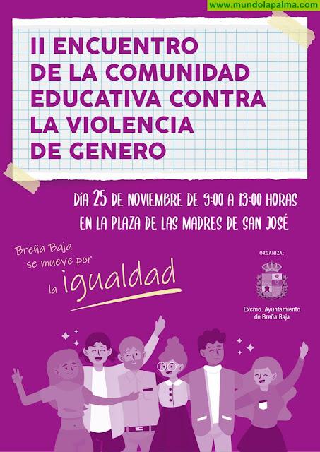 BREÑA BAJA: II Encuentro de la Comunidad Educativa contra la Violencia de Genero