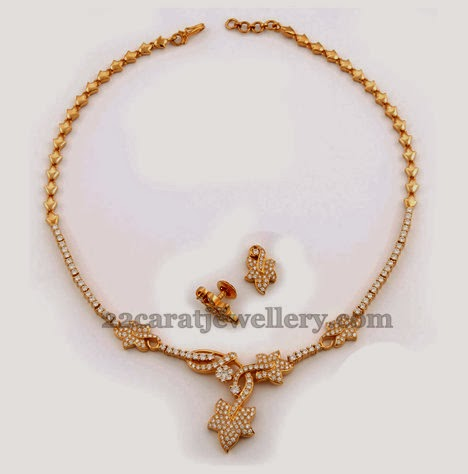 Simple Indian Latest Necklace