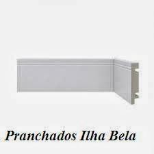 Rodapé de Poliestireno Santa Luzia 459 Branco
