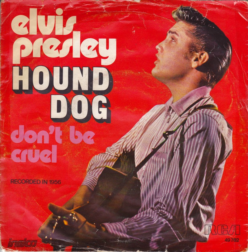 Elvis Presley Hound Dog Guitar Chords Lyrics Kunci Gitar