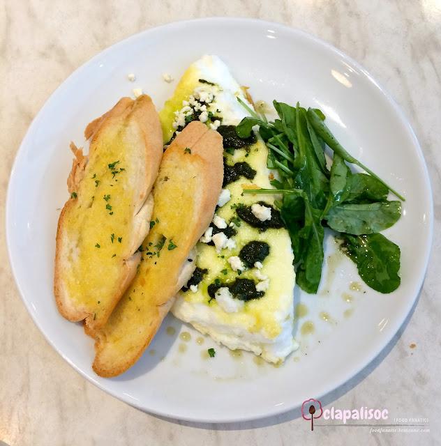 Fluffy Egg White Omelette from Little Owl Cafe