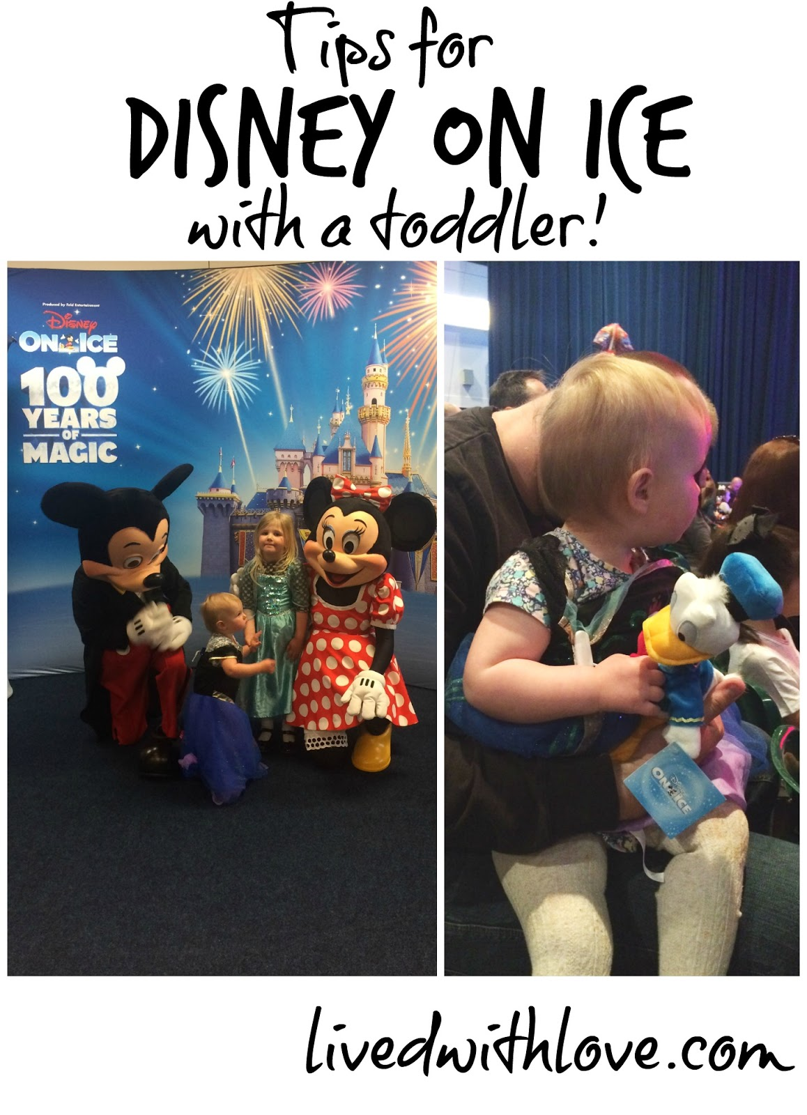 Disney on Ice with a toddler