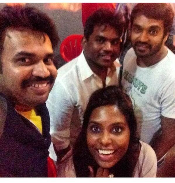 Masss-New-Shooting-Spot-Images-Yuvan-shankar-raja-and-premgi