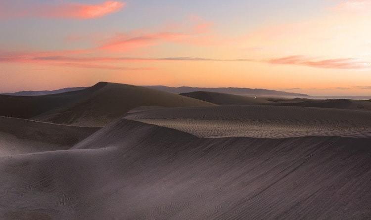 pismo beach sand dunes oceano