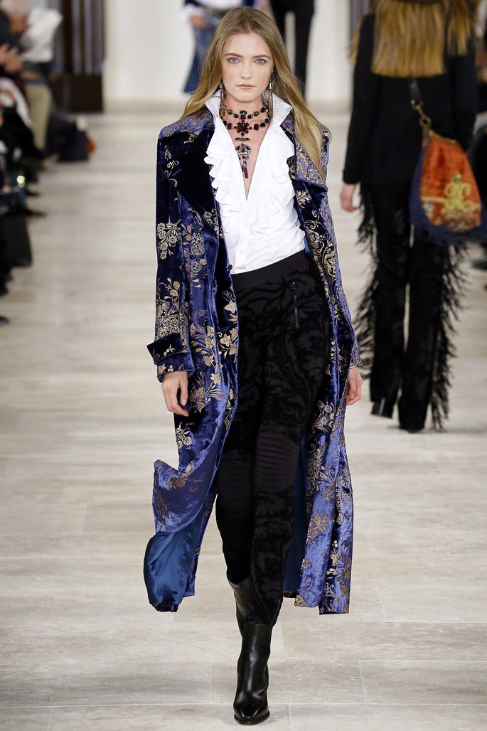 Ralph Lauren на неделе моды