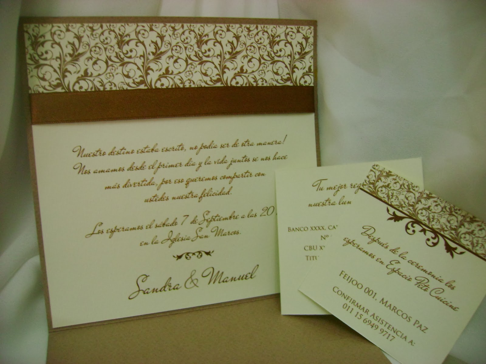 Invitaciones Y Tarjetas De Casamiento - Ver-invitaciones-de-boda