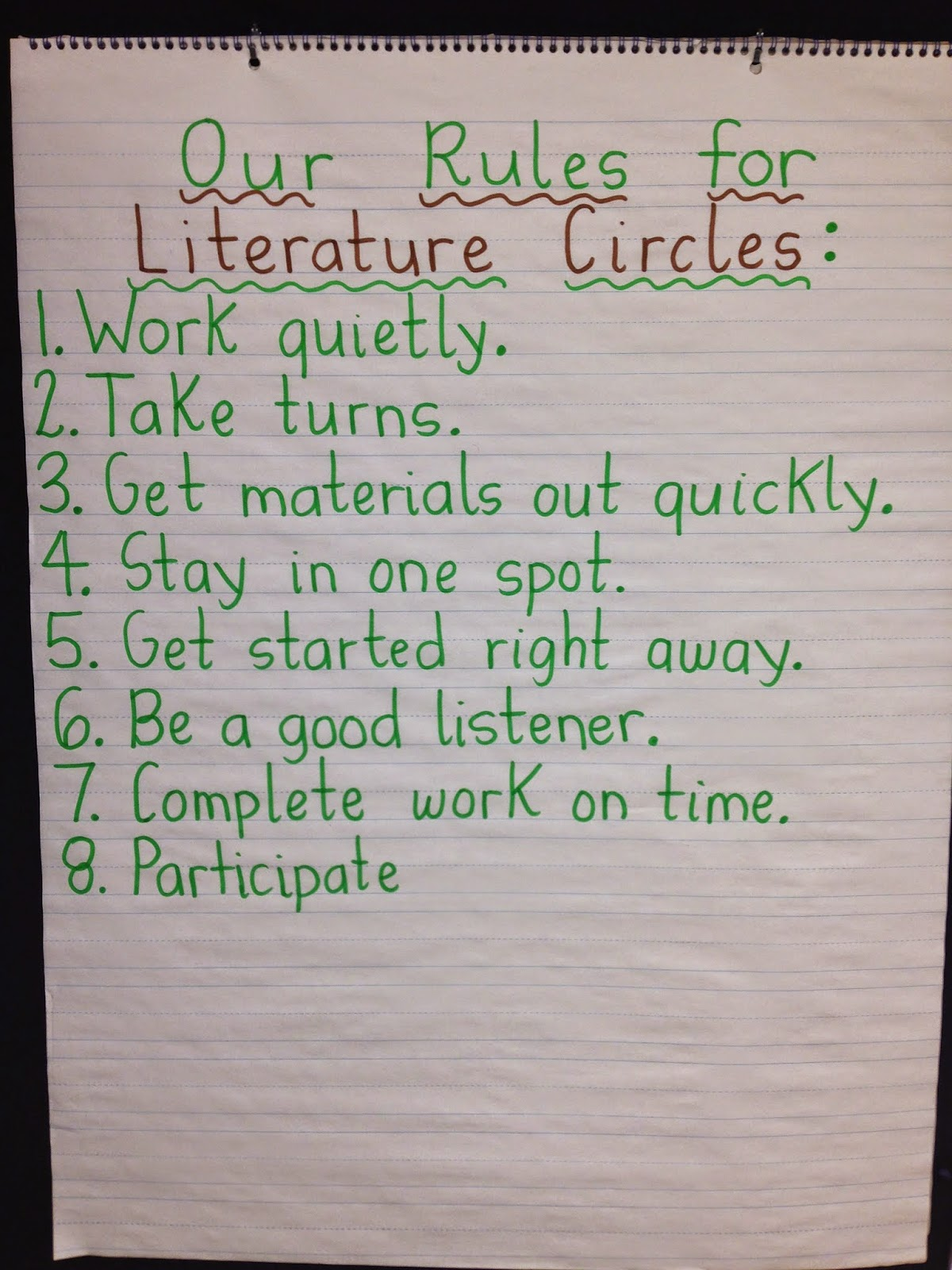 Teach Dream Inspire Literature Circles For Primary