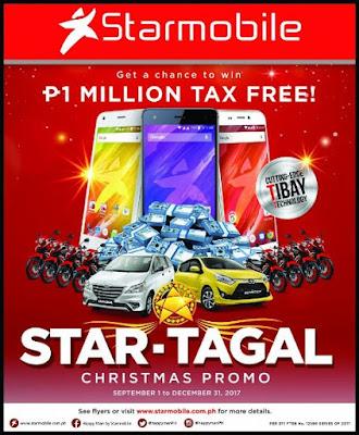 Starmobile STAR-TAGAL Christmas Promo