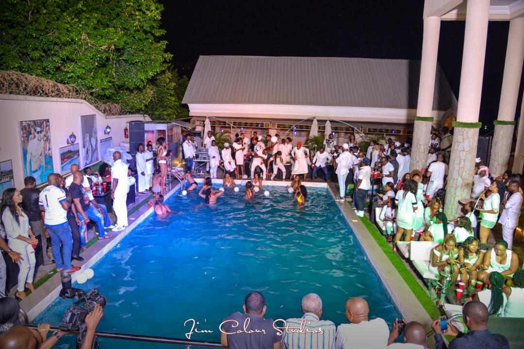 Abuja All White Pool Party