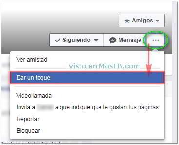"""¿Recuerdas cómo """"dar un Toque"""" en Facebook? - MasFB"""