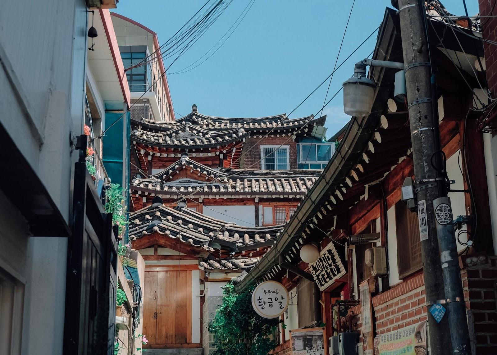 Bukchon Hanok Village Seoul Korea Curitan Aqalili