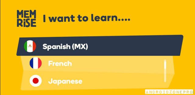 Télécharger Apprends les langues avec Memrise PRO