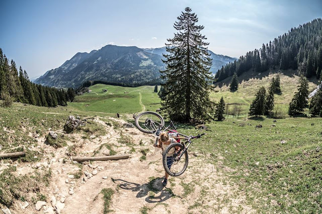 bikebergsteigen touren im inntal bayern mountainbike bike mtb