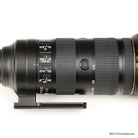 Low Profile Replacement Foot for Nikon 70-200mm f/2.8E FL ED VR from Hejnar Photo