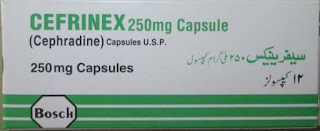 cefrinex 250mg capsule