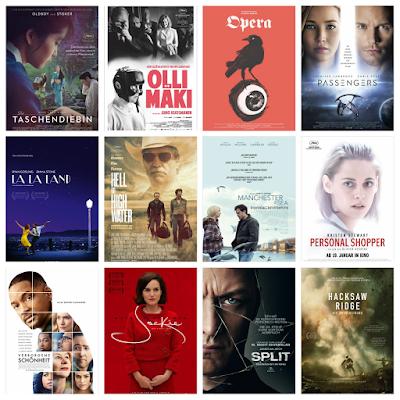 der cineast Filmblog Kinovorschau Januar 2017