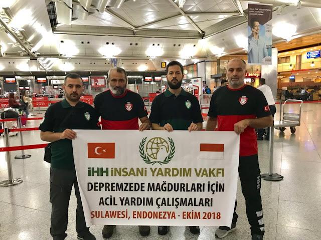 Lembaga Bantuan Kemanusiaan Turki Kirim Bantuan Darurat ke Donggala Palu