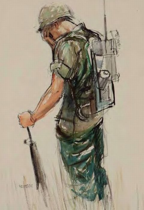 american soldier drawing - photo #9