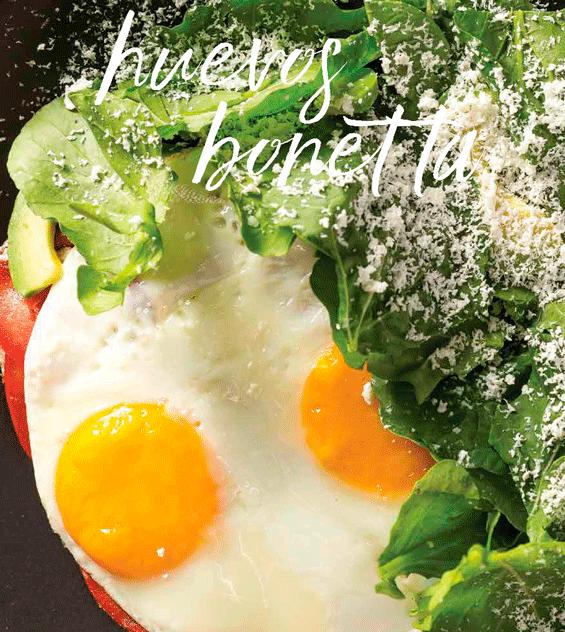 Come Saludable: Huevos Bonetta