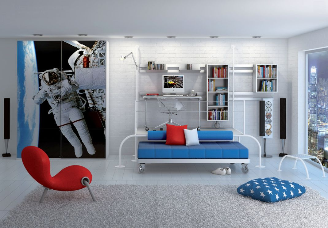 astronaut bedroom ideas - photo #16