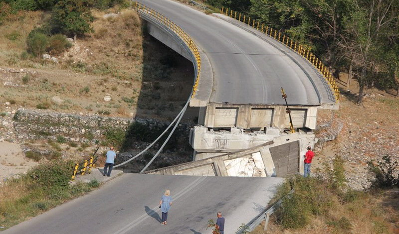 Αγανάκτηση στο ΤΕΕ Θράκης από τις εξελίξεις για τη γέφυρα Κομψάτου