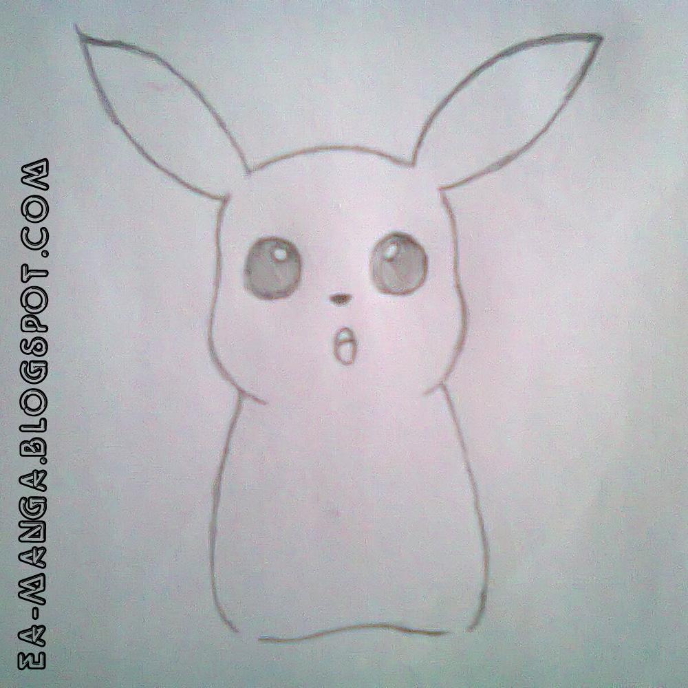 Cara Menggambar Pikachu   Manga Council