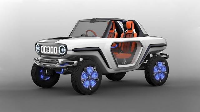 Suzuki e-Survivor Concept Future SUV