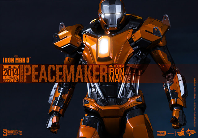 Hot Toys Iron Man Mark XXXVI (The Peacemaker)