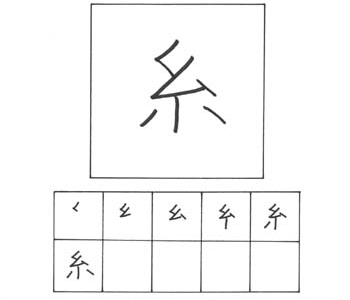 kanji benang