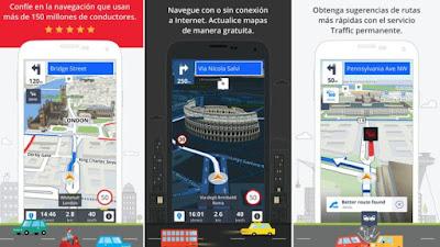 7. aplicaciones gps Smartphone internet