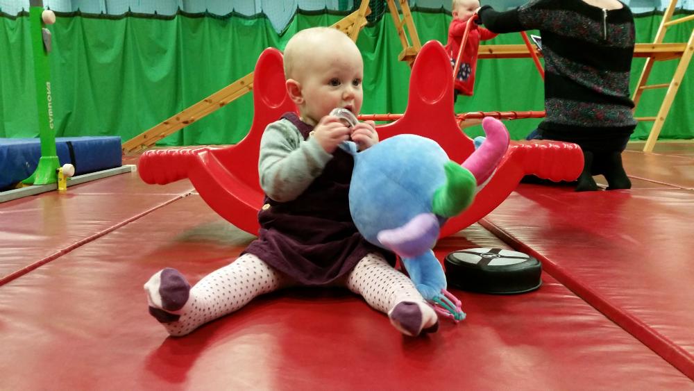 Toddler Togs: Corduroy Pinafore