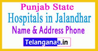 Hospitals in Jalandhar Punjab