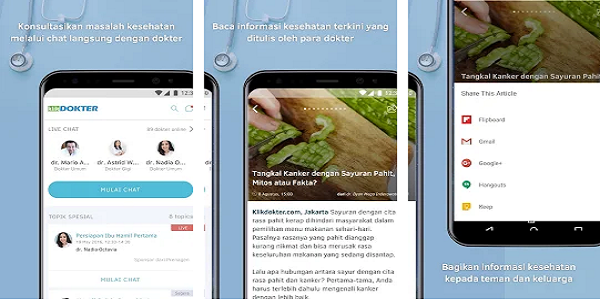 5 Aplikasi Android Yang Bisa Menjadikan Smartphone Anda Sebagai Dokter Pribadi Apa Saja Gadget Lagi