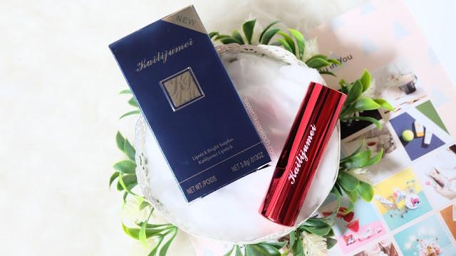 review Kailijumei Secret Jelly Lipstick