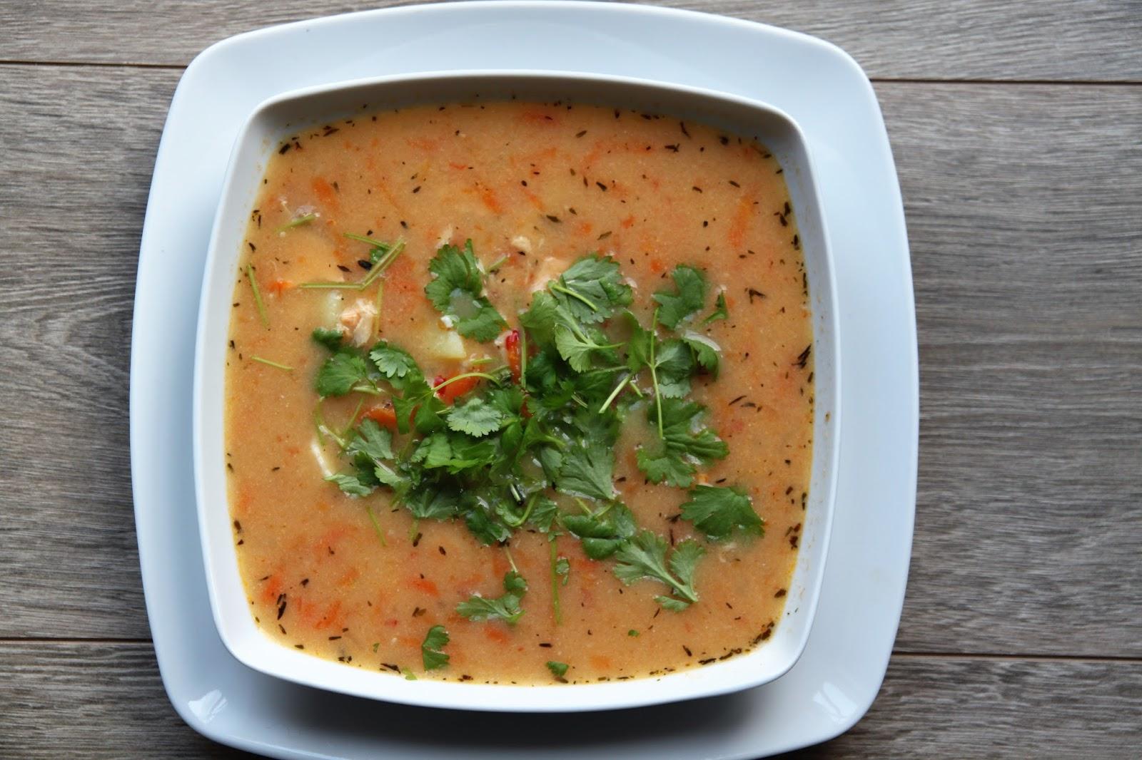 Zupa rybna na bogato